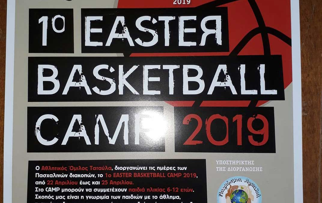 1st Easter Basketball Camp 2019